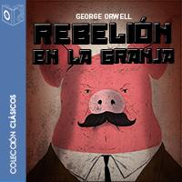 Audiolibro Rebelión en la granja