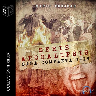 Audiolibro Apocalipsis - Saga completa de Mario Escobar