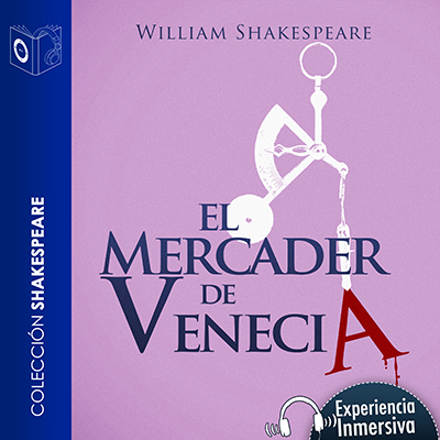 Audiolibro El mercader de Venecia de William Shakespeare