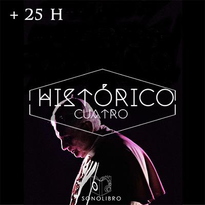 Audiolibro + 25 H HISTÓRICO IV