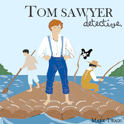 Audiolibro Tom Sawyer detective de Mark Twain