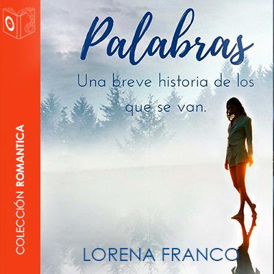 Audiolibro Palabras de Lorena Franco