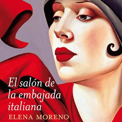 Audiolibro El salón de la embajada italiana de Elena Moreno